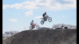В Феодосии провели соревнования по мотокроссу