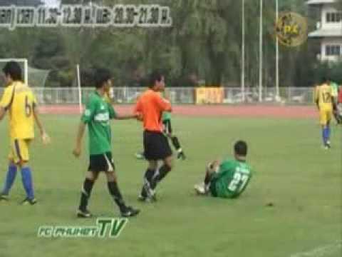 FC Phuket TV เทป3Highlight กระบี่ FC 3-2 FC ภูเก็ต.flv