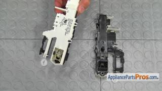 Washer Door Latch Assembly (part #WP8183270) - How To Replace