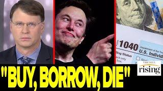 "Ryan Grim: A Wild Tax Strategy Called ""Buy, Borrow, Die"" Saves Elon Musk BILLIONS"
