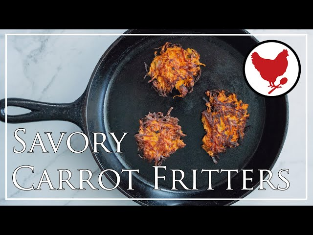 Recipe Teaser: Savory Carrot Fritters