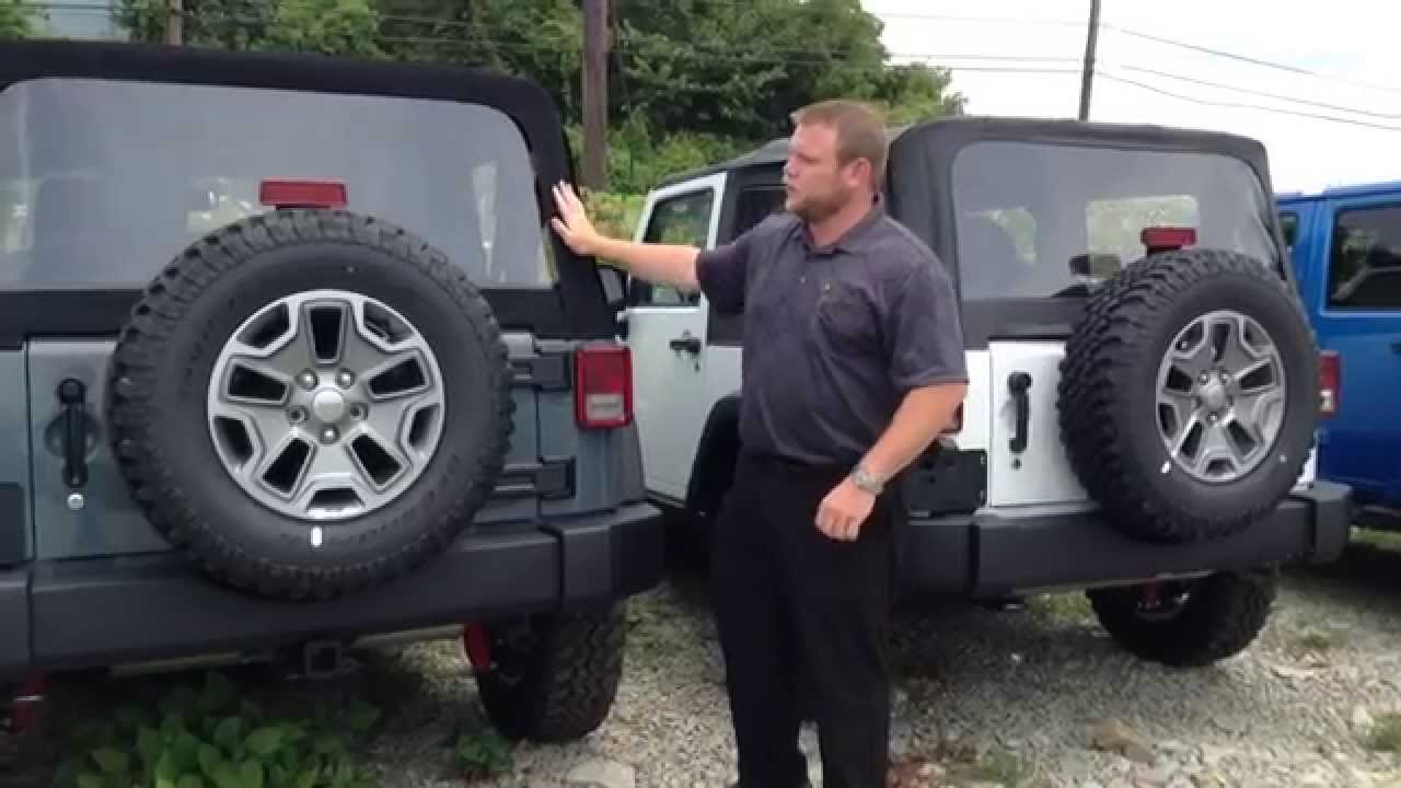 2014 Jeep Wrangler Soft Top Sunrider Youtube