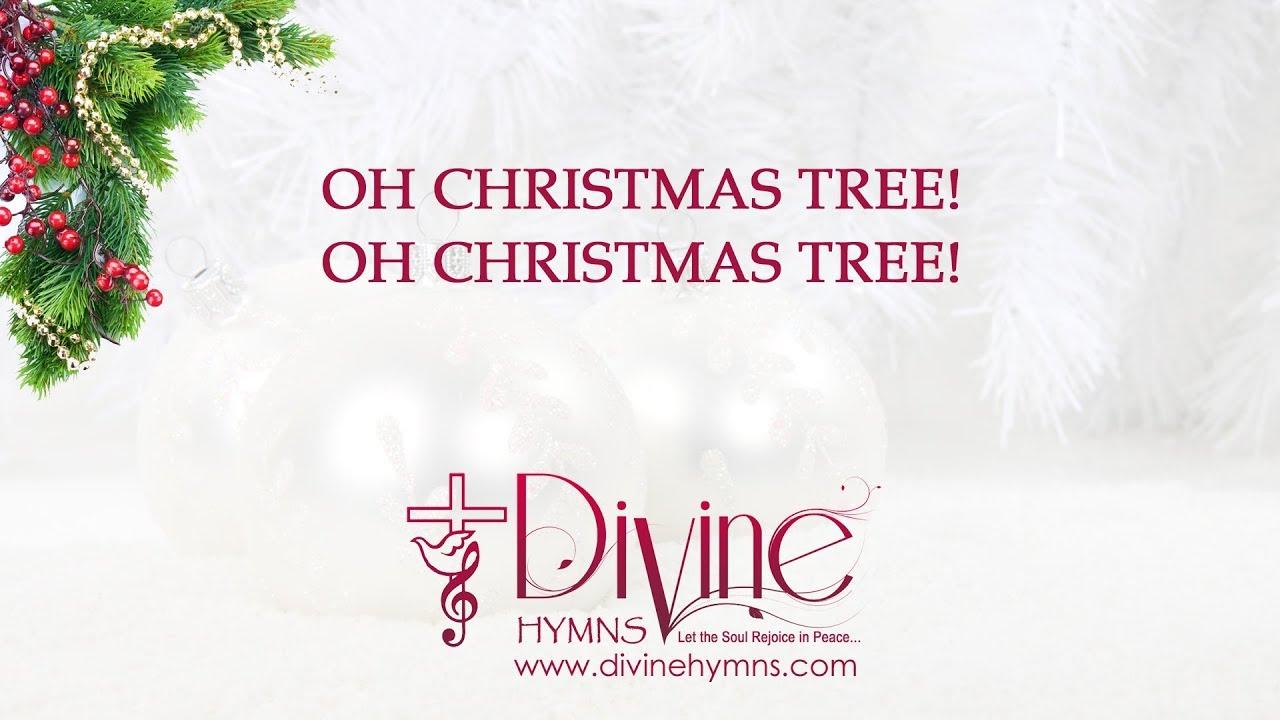Oh Christmas Tree! Oh Christmas Tree! Christmas Carol with Lyrics ...