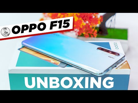 OPPO F15 Unboxing & Overview - Quad Cameras!