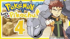 POKÉMON LET'S GO, PIKACHU! # 04 ⚡ Rockos Steine zerbröseln! • Let's Play Pokémon Let's Go, Pikachu!