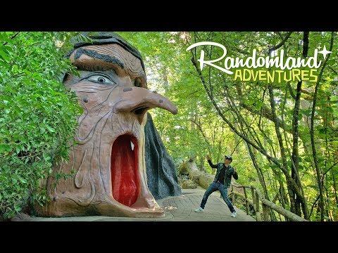 Enchanted Forest - Epic DIY, Handmade Theme Park!