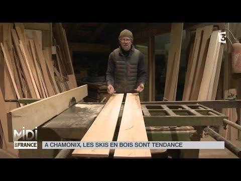MADE IN FRANCE : À Chamonix, les skis en bois sont tendance