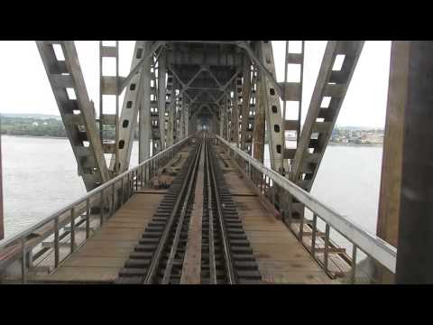 Bulgaria/Romania: Crossing the Danube Bridge (Friendship Bridge) between Ruse/Pyce & Giurgiu