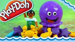 Play Doh • Morskie Zwierzęta • Playmobil Aquarium • Bajki i kreatywne zabawki