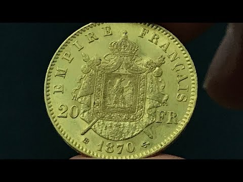 1870 France 20 Francs Coin •Values, Information, Mintage, History, and More