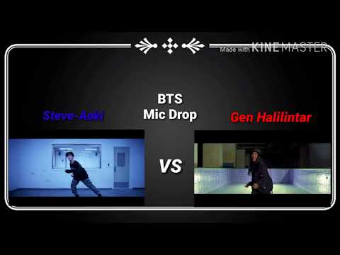 BTS Mic Drop (Steve-Aoki) VS (Gen Halilintar) By NaufalFebriansyah