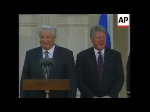 Boris Yeltsin In U.S.A.