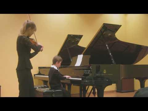 Rigaudon, LC Daquin (piano and violin)