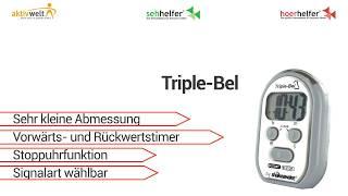 Produktvideo zu Kurzzeitmesser Humantechnik Triple-Bel