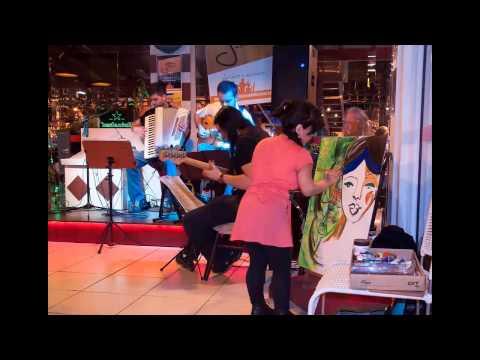 Valeria Allende - Live Paint - tributo a Dominguinhos - Joinville - Brasil
