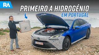 Primeiro CARRO A HIDROGÉNIO em Portugal. Novo Toyota Mirai Fuel Cell (2021)