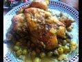 Moroccan chicken (Djaj Mcharmel) وصفة الدجاج المغربي المشرمل