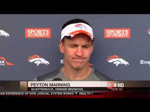 Peyton Manning TOP 5 TD passes|Peyton Manning 509th Tochdown Record New