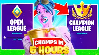 How I Hit Champion Division In 5 Hours! (Chapter 2 Season 3 Arena) | Devour Silent