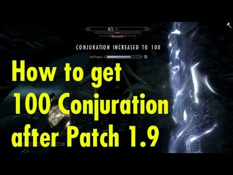 skyrim: How to get 100 Smithing after patch Fast make