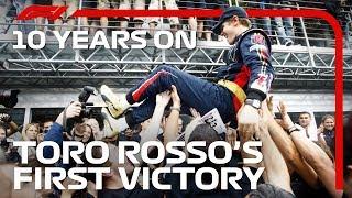 10 YEARS ON: Toro Rosso's Fairytale Monza Win