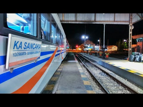 Perjalanan Liburan Naik Kereta Api Sancaka Dari Surabaya Ke Yogyakarta (05 Jam 10 Menit)