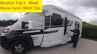 Arriving at Black Horse Farm C&MC Site - Benelux Trip 5