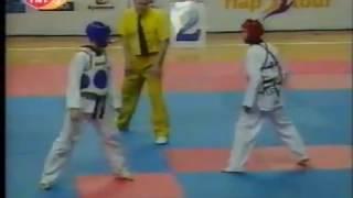 European Taekwondo Championship Finals 2002-Mert Tuncer-Juan Antonio Ramos 54 KG