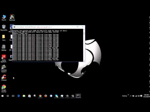 How To Test Your Internet Using Cmd
