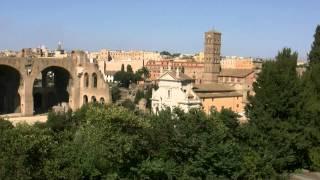 アキーラさん訪問③イタリア・ローマ・古代遺跡群フォロロマーノ・ForoRomano,Rome(Roma),Italy