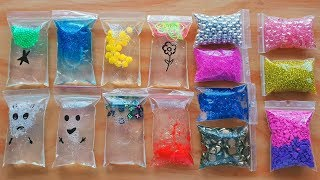 Slime making with Bags - More like putty 🙄