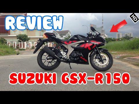 Review Suzuki GSX-R150   Gía 75 triệu đồng  tại Việt Nam   SGX Review