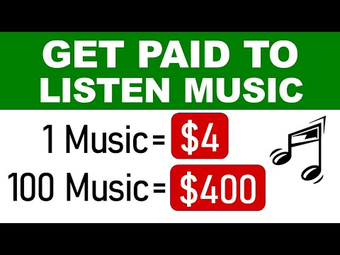 Get Paid $400 Daily From Listening Music For FREE! (No Credit Card Needed) - Make Money Online