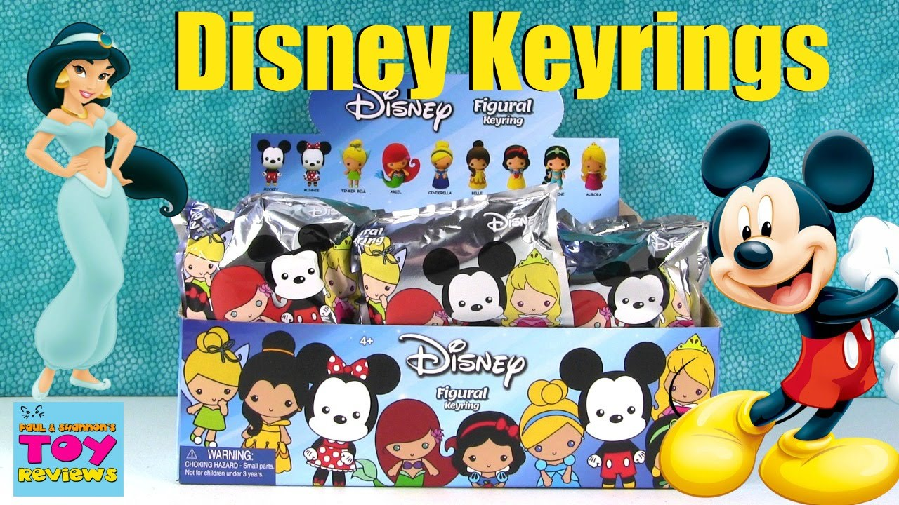Disney Princess Collection Figural Keyring Blind Bag
