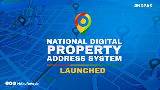 Launch of National Digital Property Addressing System