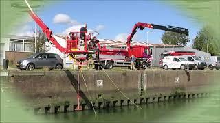 VRR duikploeg Brandweer Spijkenisse oefening autowrak opduiken
