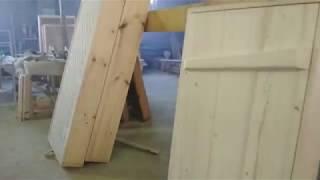 видео Дверь в предбанник