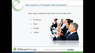 Hot Topic: Private Placements Within an IRA - Video Image