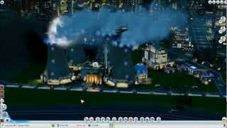 SimCity Disaster! Nuclear Reactor Meltdown