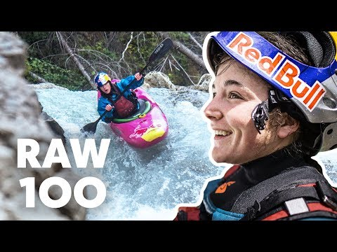 100 Seconds Of Extreme Kayaking | Raw 100