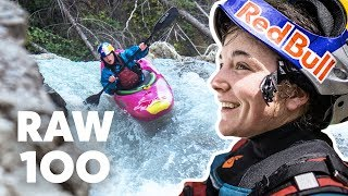 100 Seconds Of Extreme Kayaking   Raw 100 with Nouria Newman