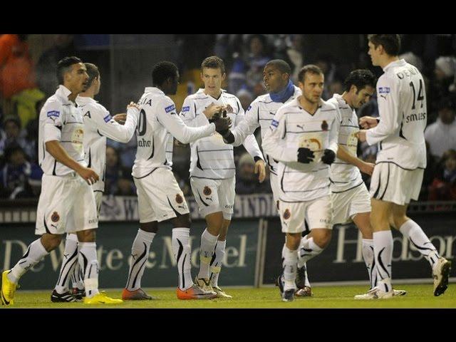 2010-2011 - AA Gent - Club Brugge - GOAL Dorge Kouemaha
