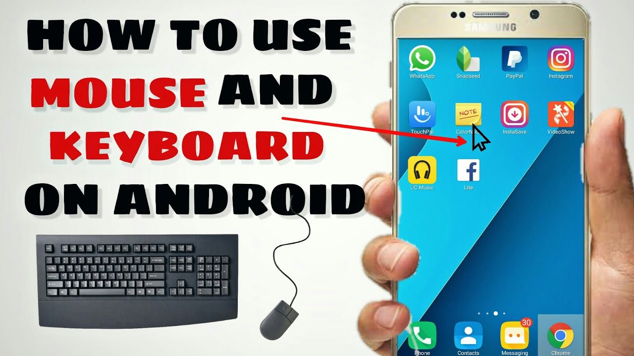 how to connect mouse with android phone, mobile main mouse kese connect  kare, otg connect on android