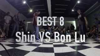 Pop Generation Popping Battle Vol.1--Best 8--Shin VS Bon Lu