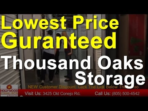 Thousand Oaks Self Storage   805.500.4542   Lowest Price Guaranteed Storage  Units In Thousand Oaks