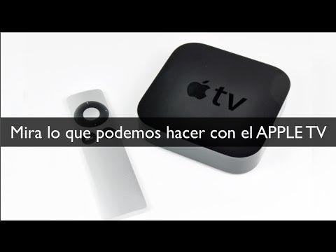 Apple TV cosas que podemos hacer