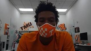 Tennessee basketball: Josiah Jordan-James visits with the media