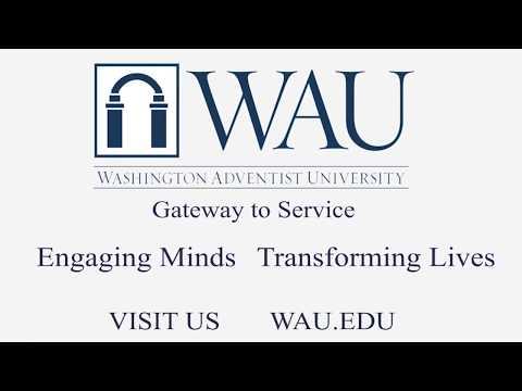 Register NOW!! Washington Adventist University