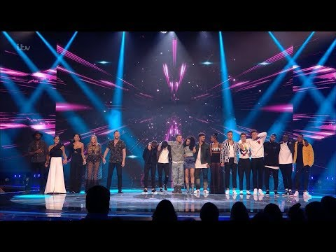 The X Factor UK 2017 Results Live Shows Round 1 Winners Full Clip S14E18