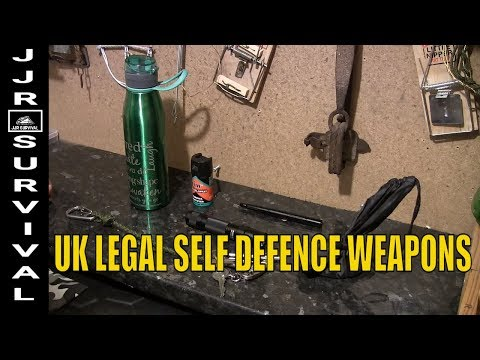 UK Legal Self Defence Weapons